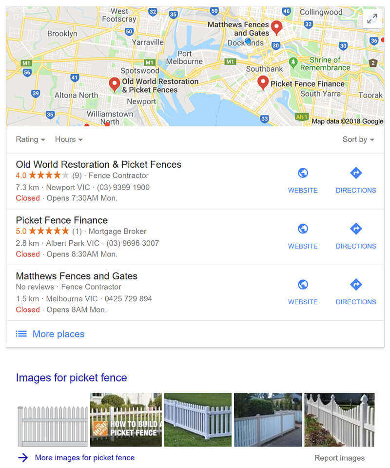 Picket Fence Google Search