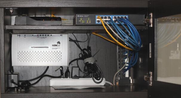 NBN Network Cabinet